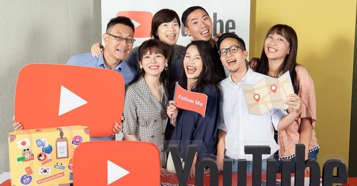 YouTube 旅遊搜尋趨勢,東京自由行最為熱門